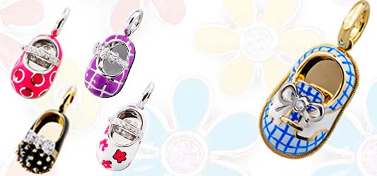Shop Aaron Basha Baby Shoe Charms - J.R. Dunn Jewelers®