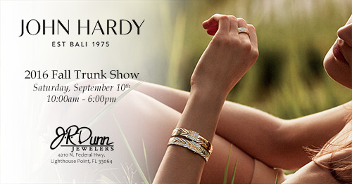 John Hardy Fall 2106 Trunk Show