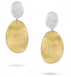 Marco Bicego Diamond Lunaria Earrings