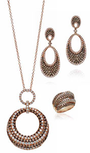 Beautiful Brown Gemstone Jewelry