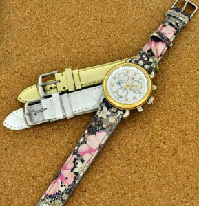 Michele watch and straps