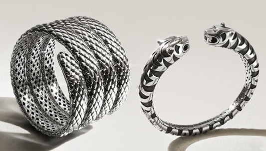 John Hardy Cuffs, Bangles and Coils