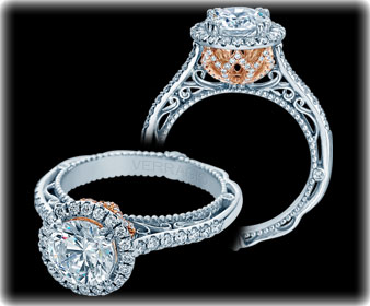 Verragio Halo Engagement Rings