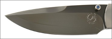 Knife Blade Made from Black Coated ZDP-189