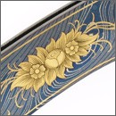 Knife Embellishments & Adornments with Gold-inlaid Engraving