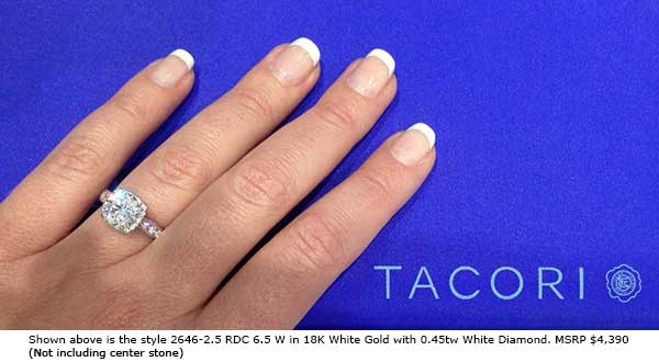 New Tacori Dantela Varietal Ring